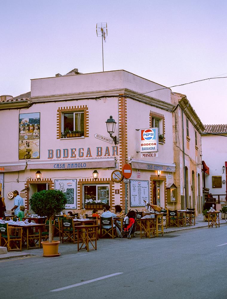 Bodega bar Casa Manolo Mallorca