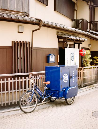Bicicleta en Kyoto