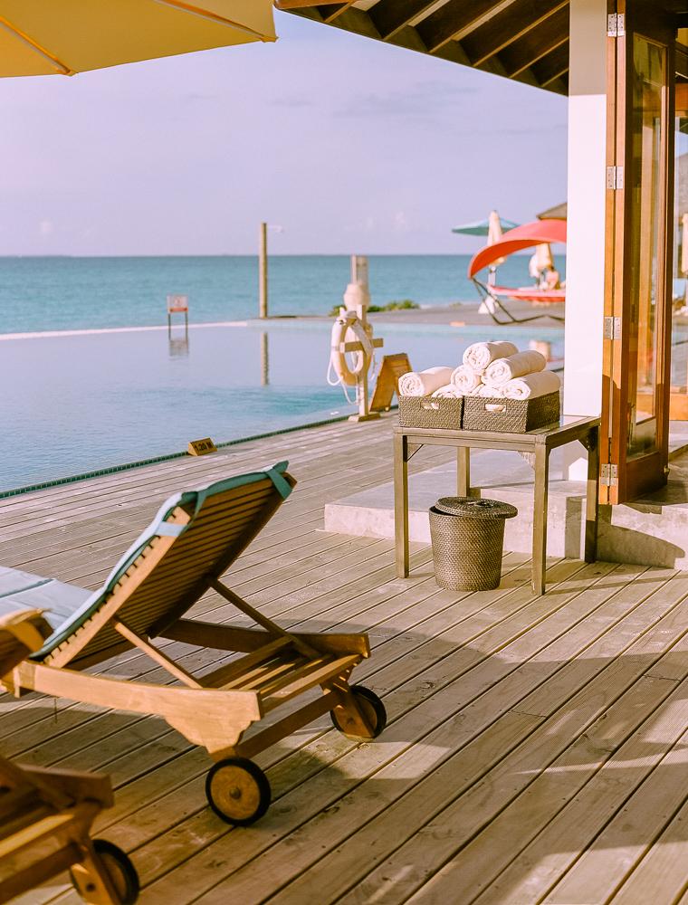 Ressort en maldivas