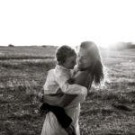 Sesión fotográfica familiar en el campo