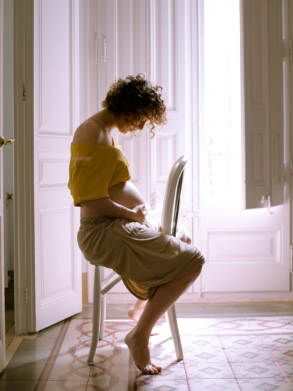 Fotografía de embarazada.