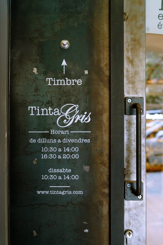 tienda tinta gris barcelona