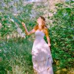 Photo shoot of wedding dresses
