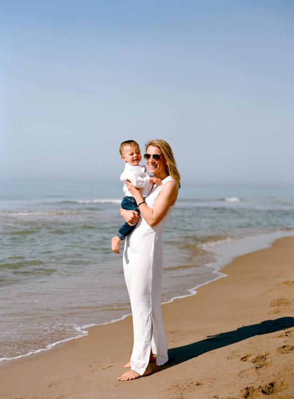 Sesión familia playa Barcelona